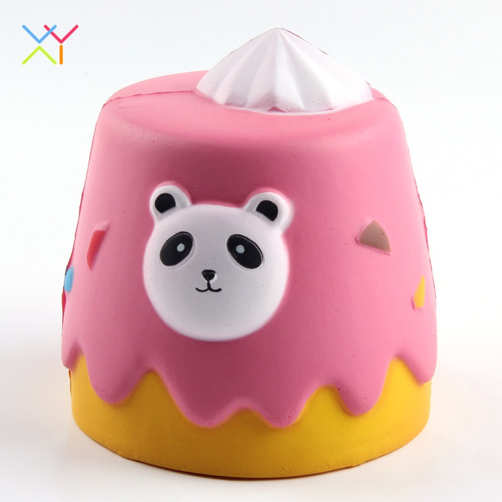 China factory new gift toy, food scented soft slow rising cake squishy wholesale super soft food squishy