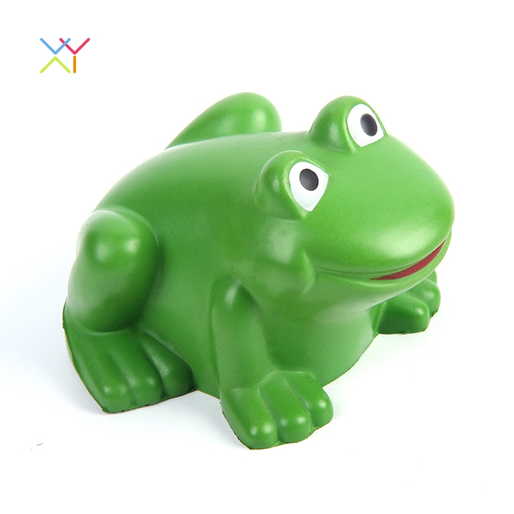 Eco-friendly PU Stress Ball Frog Promotional Anti Stress Gifts