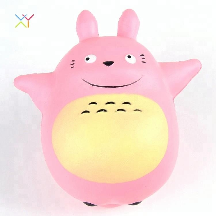 factory hot sale new creative kawaii squishy toy cute jumbo totoro squishy toys animal slow rising squishies